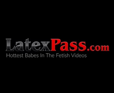 Latex Babe Taken From Behind For Outdoor Threesome