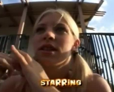 Skinny Blonde Teen Got Fucked By A Horny Guy And Gave A Blowjob To Him, Just For Fun