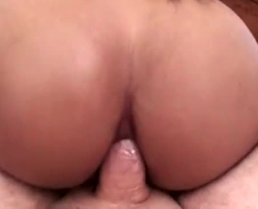 Busty Shemale Sucks Dick And Gets Banged