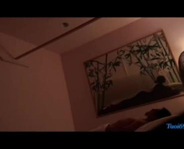 Kasey Lender Tasting A Stiff Rod And Give Him A Proper Massage