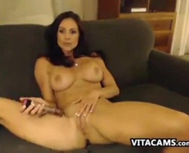 Enticing Milf In High Heels Playing With Her Sex Toy