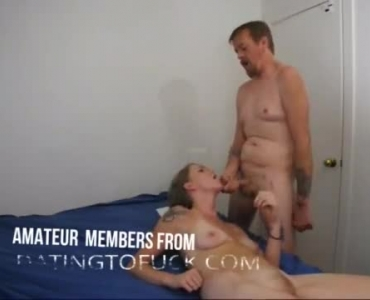 Blonde Girl Likes To Feel Fresh Cum All Over Her Tits After A Good Fuck
