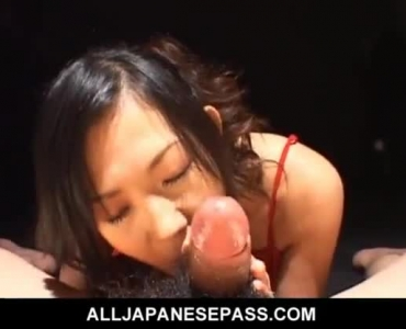 Asian Babe Is Sucking Dick And Getting It Up Her Tight Ass Hole In The Kitchen