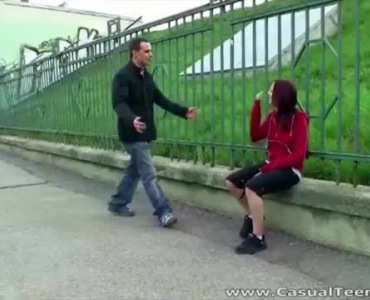 A Handsome Guy Is Fucking A Sweet Blonde Babe While Her Partner Is Out Of Town