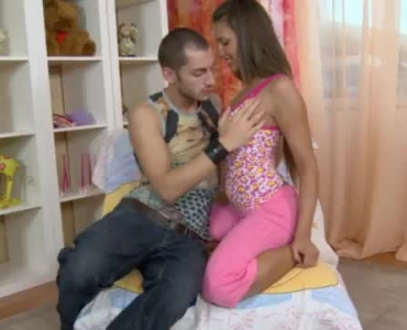 Two Horny Guys And Two Cute Dykes Are Fucking Like Crazy All Day Long