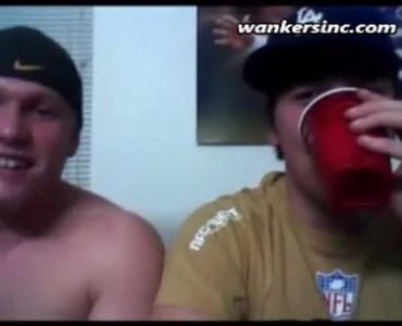 Two Bald Guys Wanking