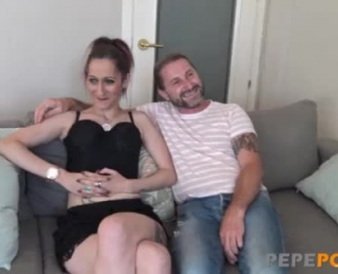 European Couple Is Casting A Web Video, While Having Sex In Front Of The Camera