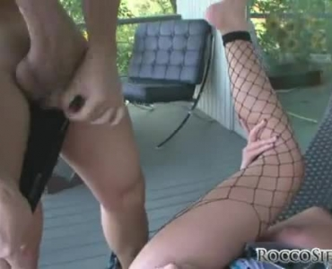 Watch This Sexy Brunette Getting Stuffed