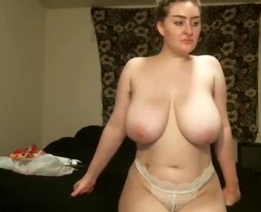Super Horny Blonde With Big Tits Smokes Then Gets Smooched