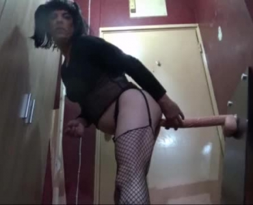 Horny College Chick Fucked By A Dildo