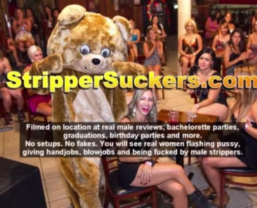 Mature Babe Skit With Strippers