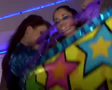 Group Of Horny Havers Orgasms When Party