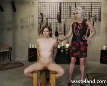 Blonde Loves A Lesbian Pounding On Her Handsome Colleague
