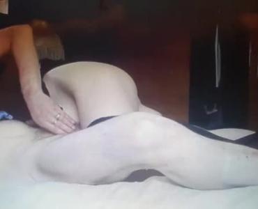 A Pierced Redhead In Stockings Posing