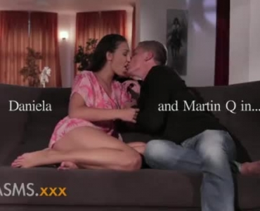 Spanish Seductress Riding On A Monster Cock