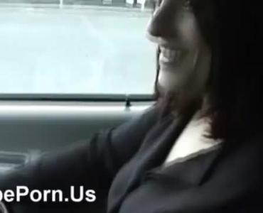 Gentle Lesbian Sex In A Car