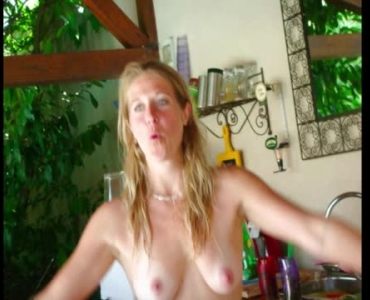 Horny Amateur Wives Sucking On Hard Cocks
