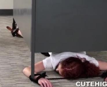 Petite Redhead Schoolgirl Masturbating