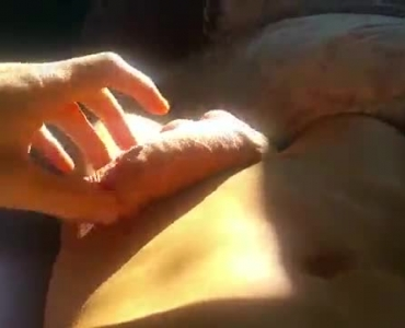 Horny Guy Penny Exposing Her Twat On The Bed