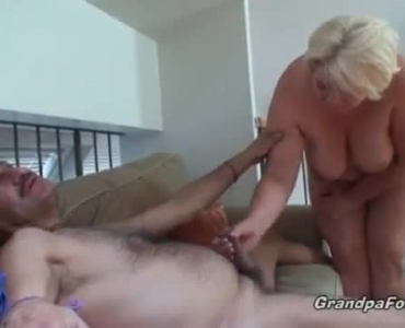Nasty Blonde Couple Is Having Sex In Front Of The Camera, Just For The Fun Of It