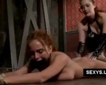 Ethnic's Blindfolded Whore-Leader Forced To Taste Dp Fun