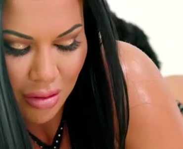 Jasmine Jae Is Getting Hammered While Her Partner Is In His Office Or Home